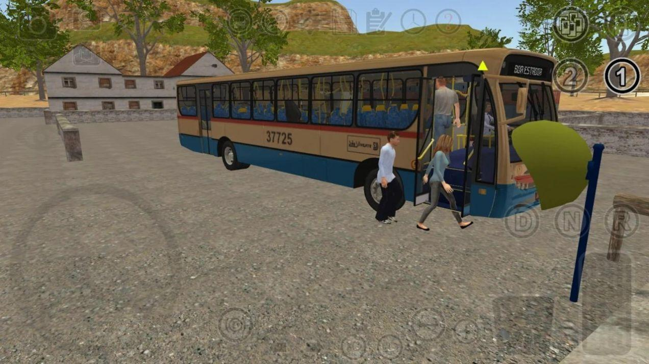 模拟长途大巴车2020中文版截图2