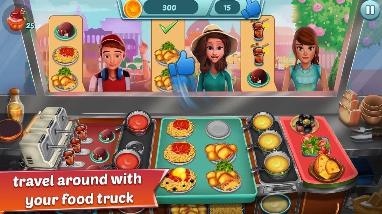 美食卡车餐厅2破解版截图3