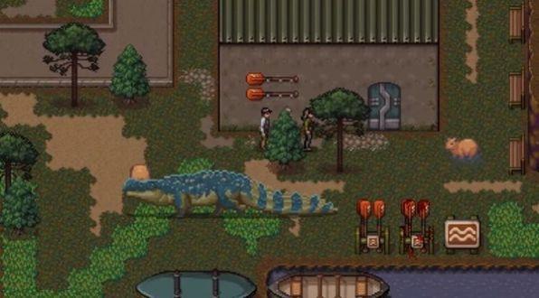 恐龙的危险游戏截图1