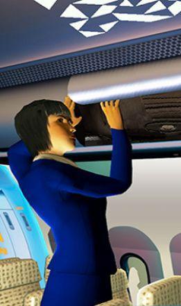 机场空姐模拟器官方版截图3
