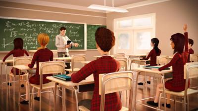 女高中生虚度日常中文版截图1