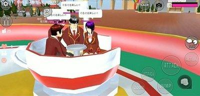 樱花校园模拟器圣诞树版本截图3