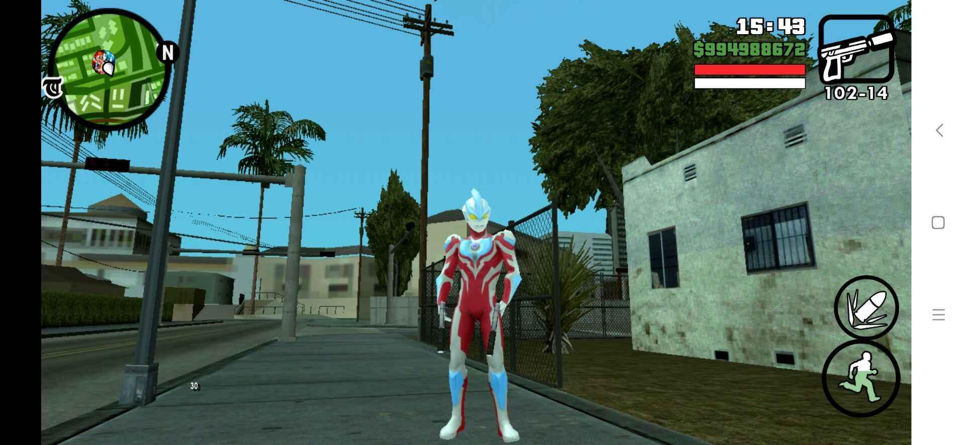 gtasa钢铁侠mod安卓版截图2