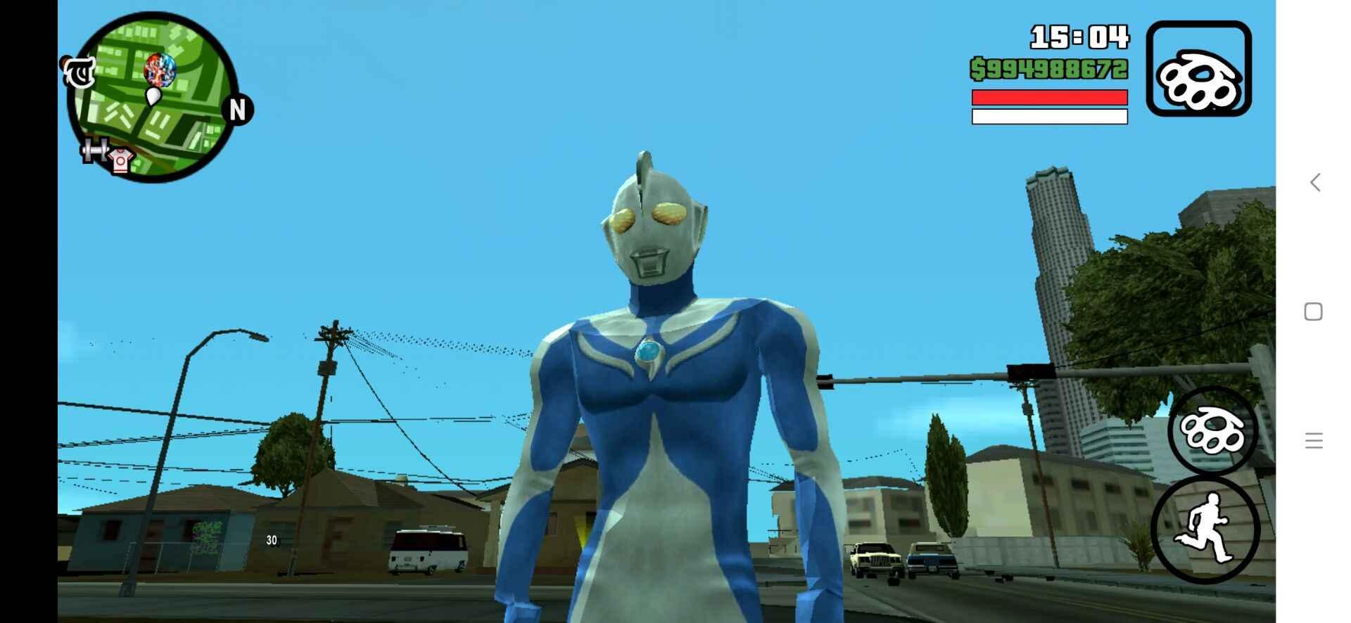 gtasa钢铁侠mod安卓版截图4