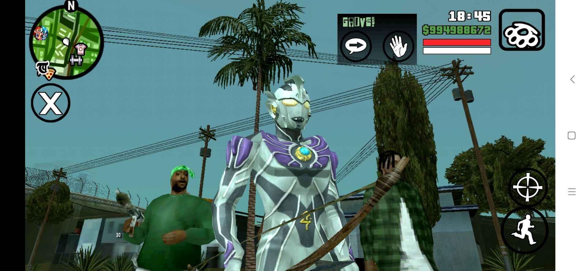 gtasa钢铁侠mod安卓版截图5