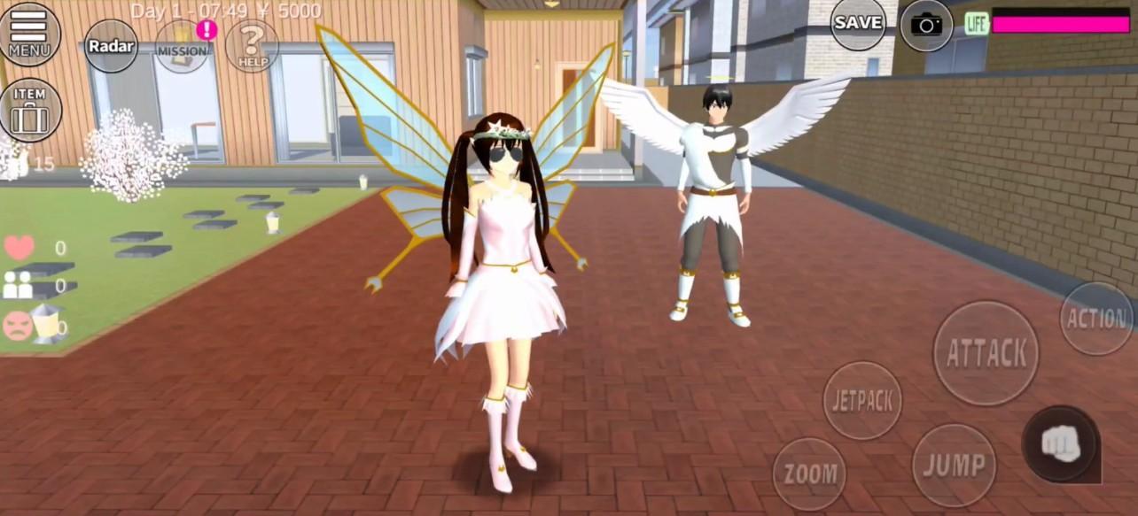 樱花校园模拟器最新版精灵中文版截图3