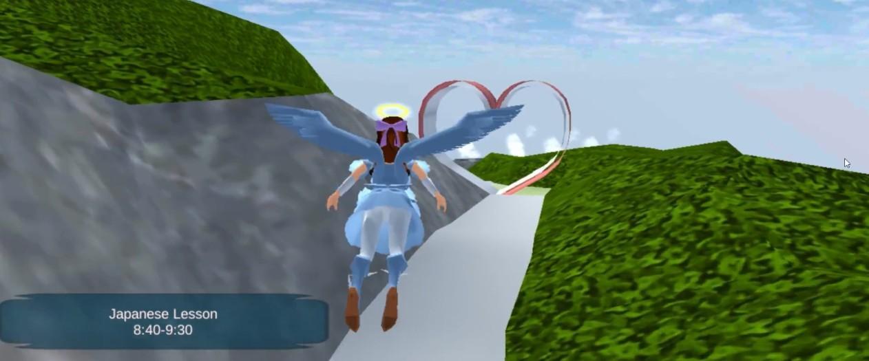 樱花校园模拟器1.038.14情人节版本截图5