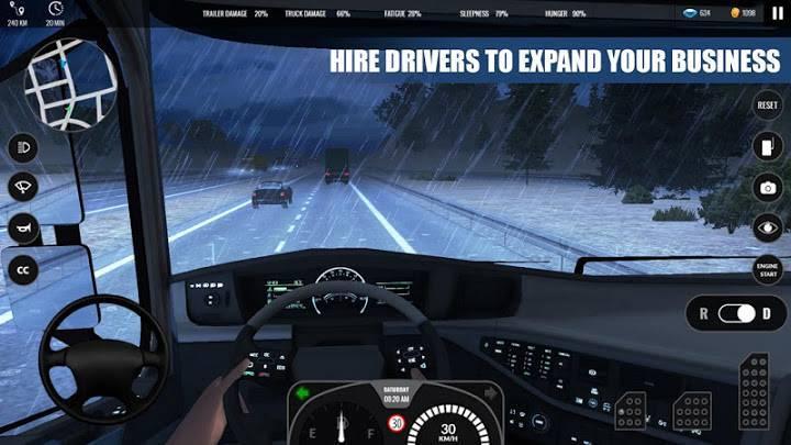 高级卡车模拟器正版截图2
