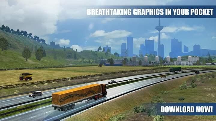 高级卡车模拟器正版截图1