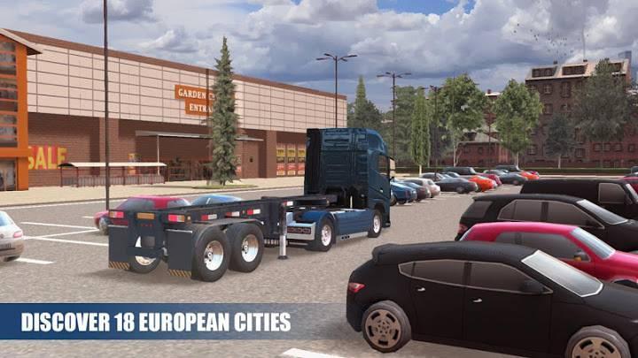 高级卡车模拟器正版截图4
